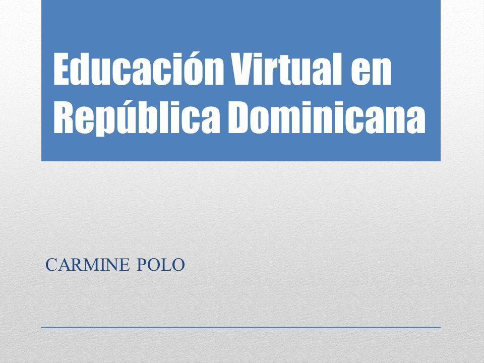Educación Virtual en República Dominicana