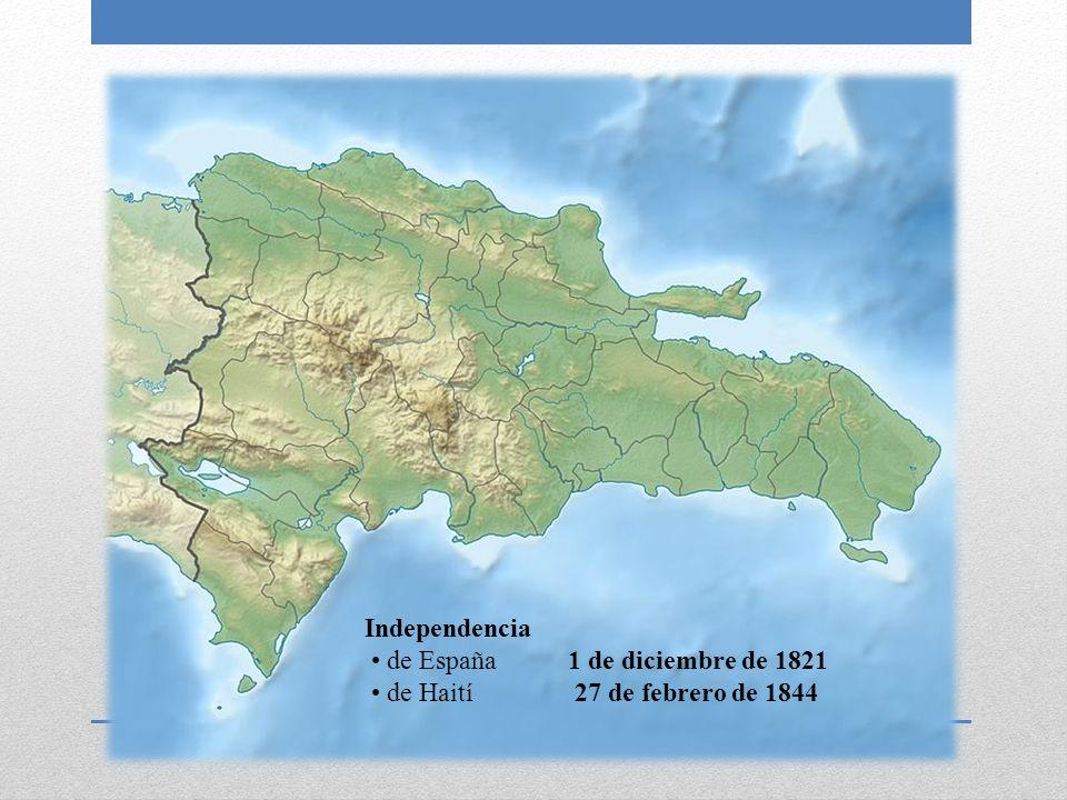 Independencia • de España • de Haití