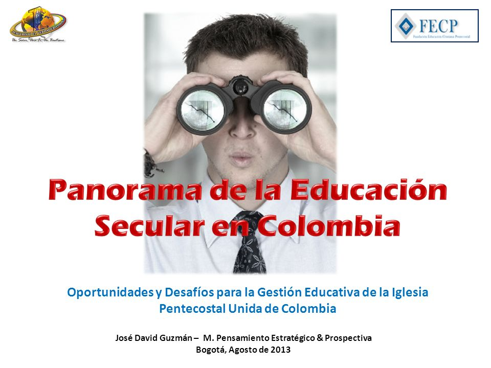 José David Guzmán – M. Pensamiento Estratégico & Prospectiva