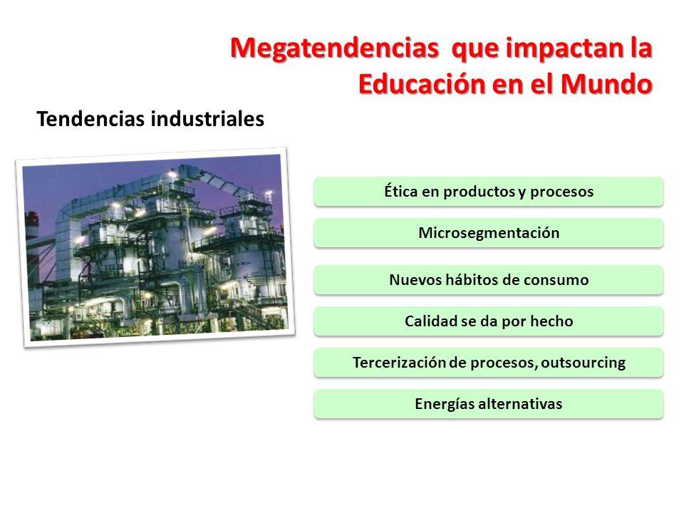 Megatendencias que impactan la Educación en el Mundo