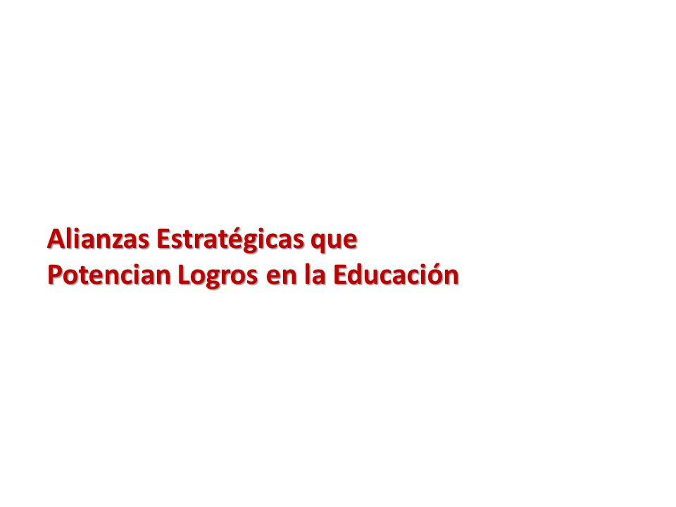 Alianzas Estratégicas que Potencian Logros en la Educación