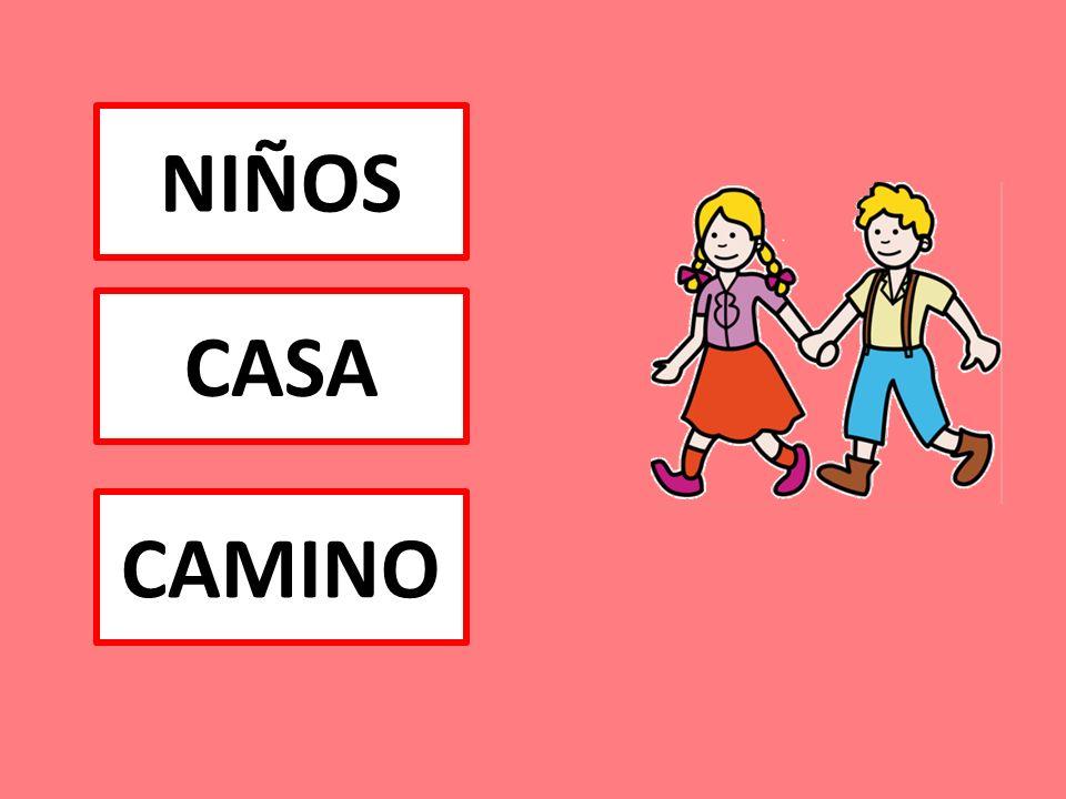 NIÑOS CASA CAMINO