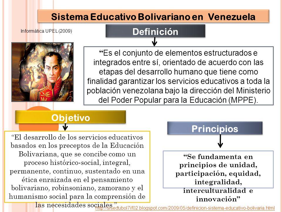 Sistema Educativo Bolivariano en Venezuela