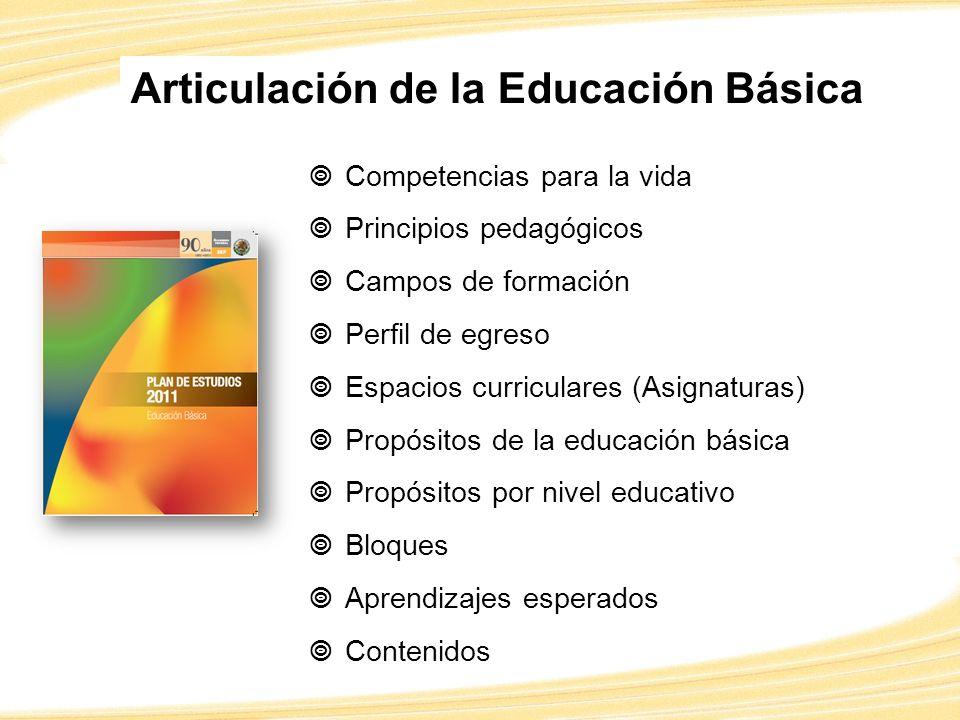 Articulación de la Educación Básica