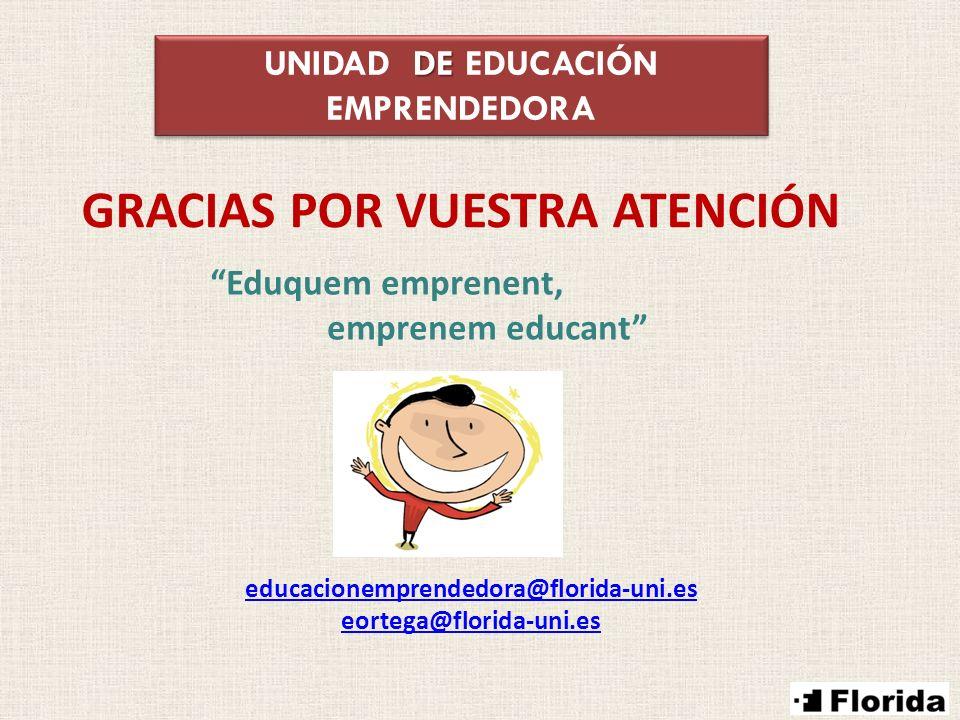UNIDAD DE EDUCACIÓN EMPRENDEDORA