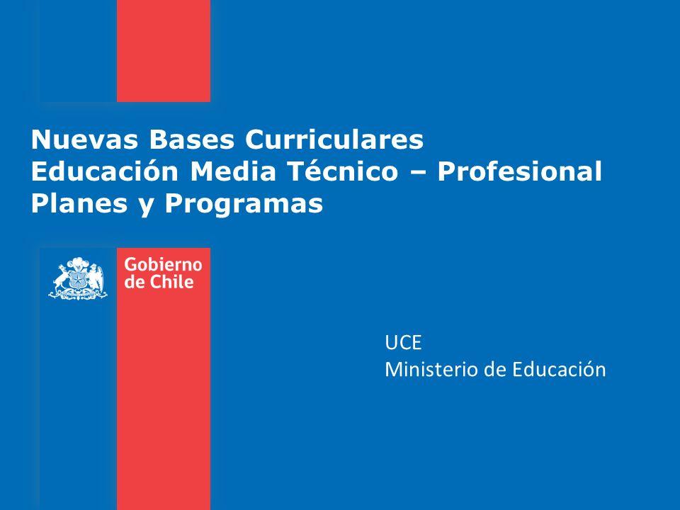 UCE Ministerio de Educación