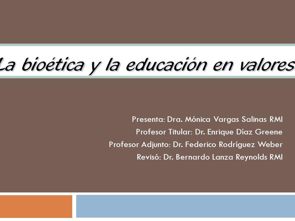 Presenta: Dra. Mónica Vargas Salinas RMI
