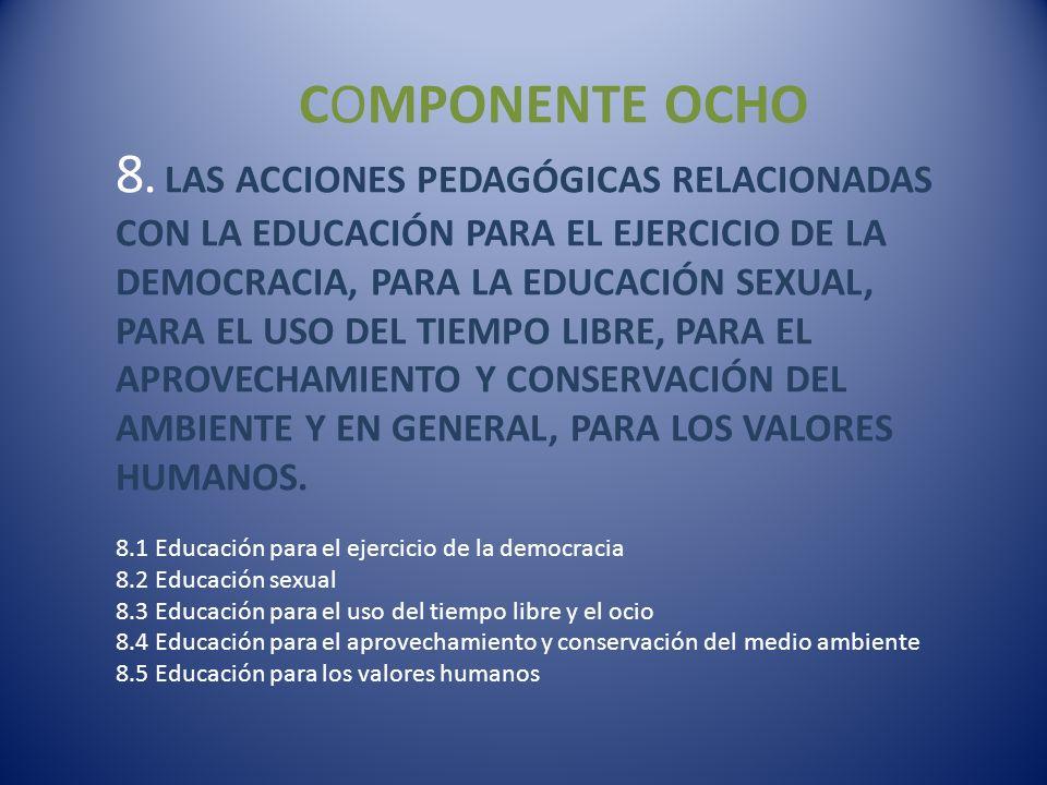 COMPONENTE OCHO 8.