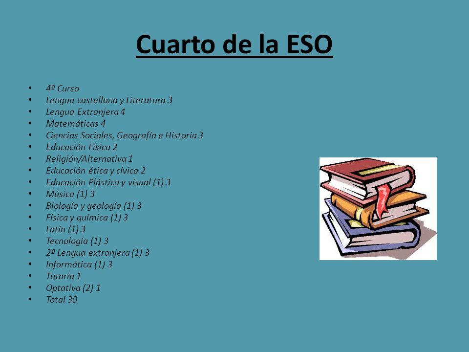 Cuarto de la ESO 4º Curso Lengua castellana y Literatura 3