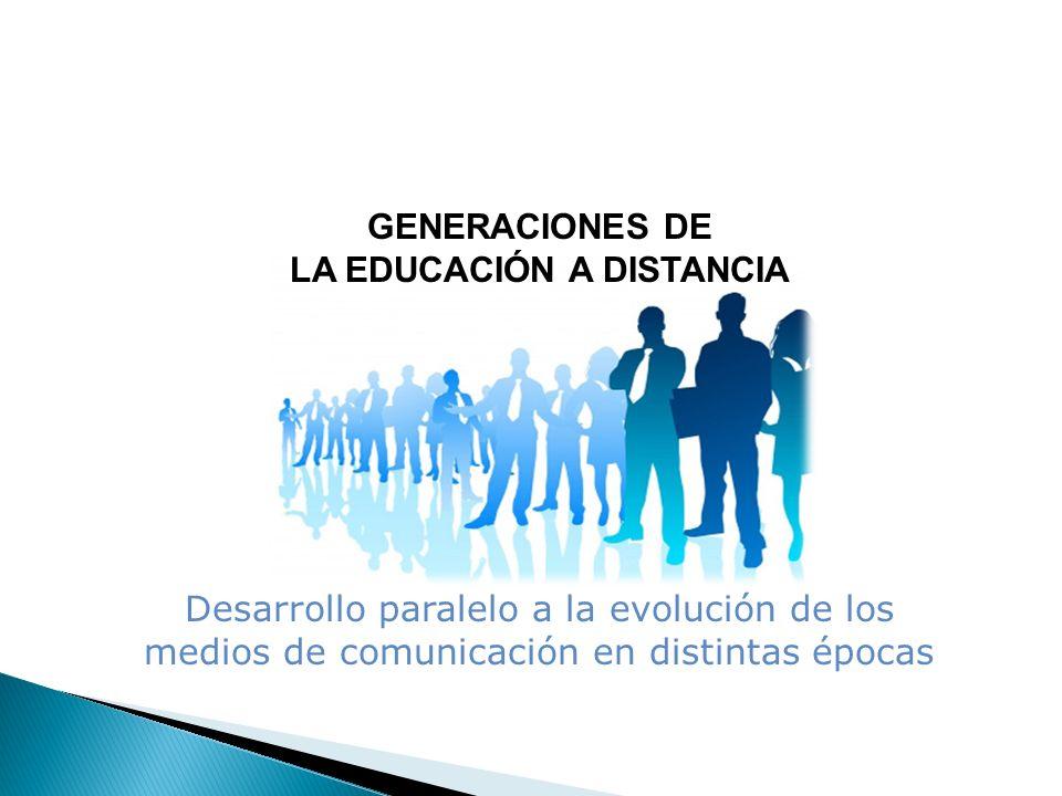 LA EDUCACIÓN A DISTANCIA