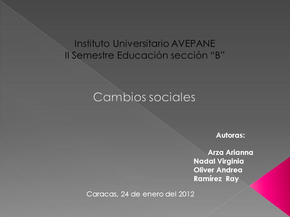 Instituto Universitario AVEPANE II Semestre Educación sección B