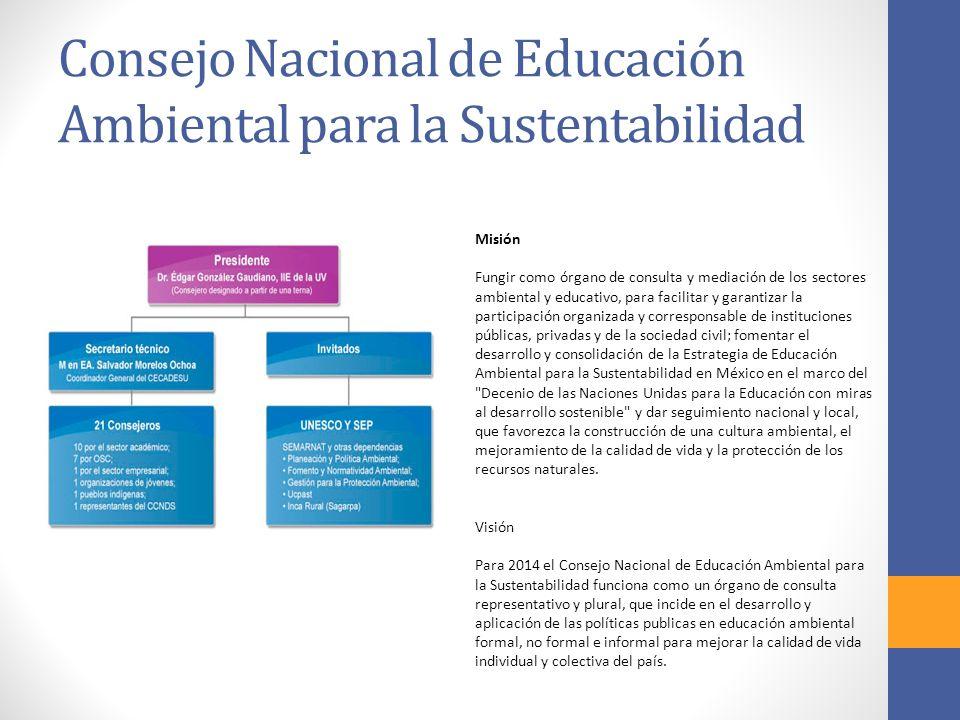 Consejo Nacional de Educación Ambiental para la Sustentabilidad