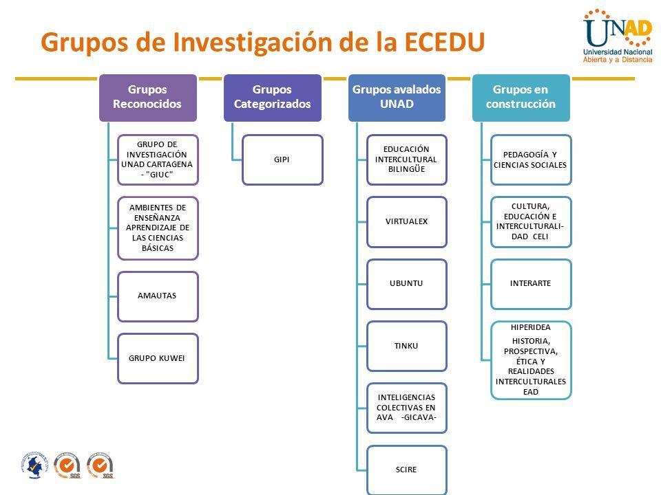 Grupos de Investigación de la ECEDU