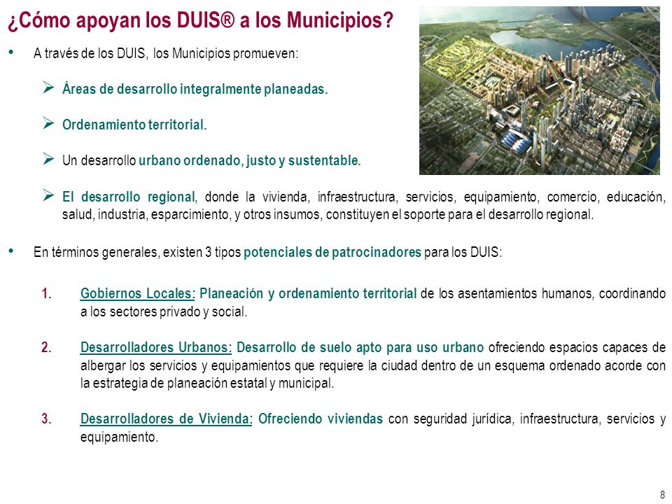 ¿Cómo apoyan los DUIS® a los Municipios