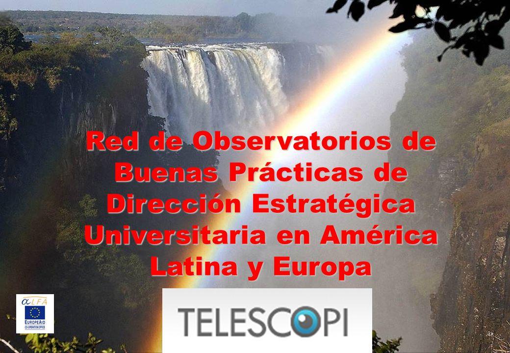Red de Observatorios de Buenas Prácticas de Dirección Estratégica Universitaria en América Latina y Europa