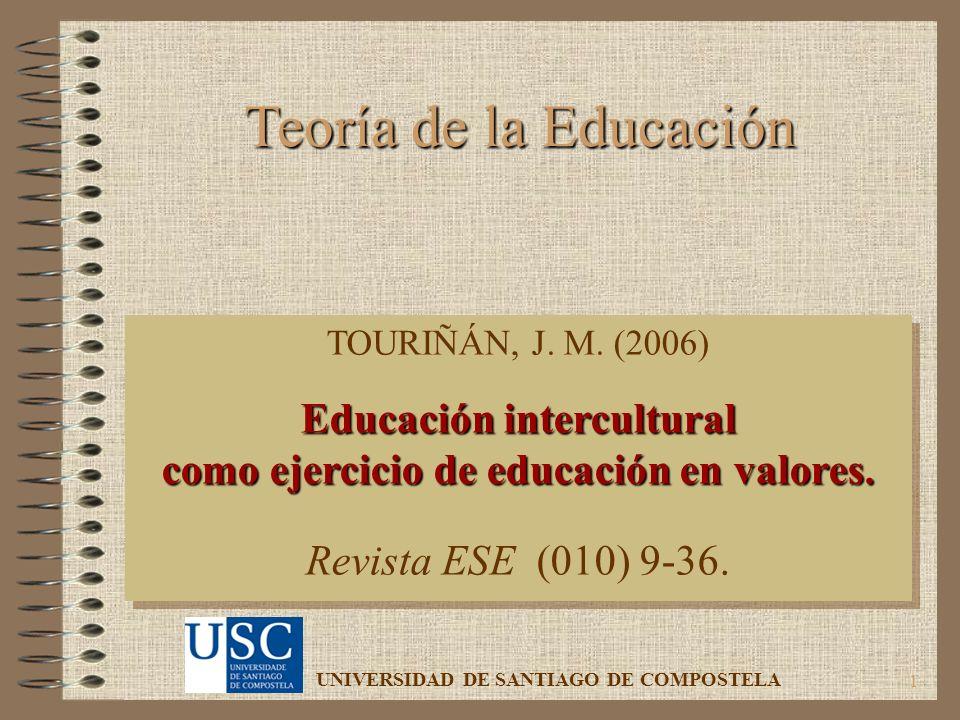 Educación intercultural como ejercicio de educación en valores.
