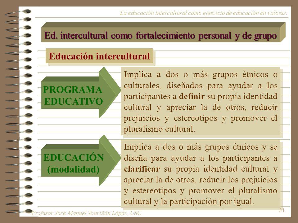 PROGRAMA EDUCATIVO EDUCACIÓN (modalidad)