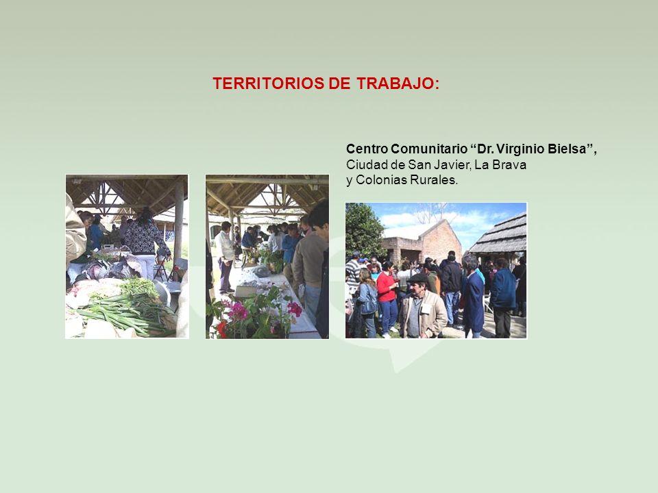 TERRITORIOS DE TRABAJO:
