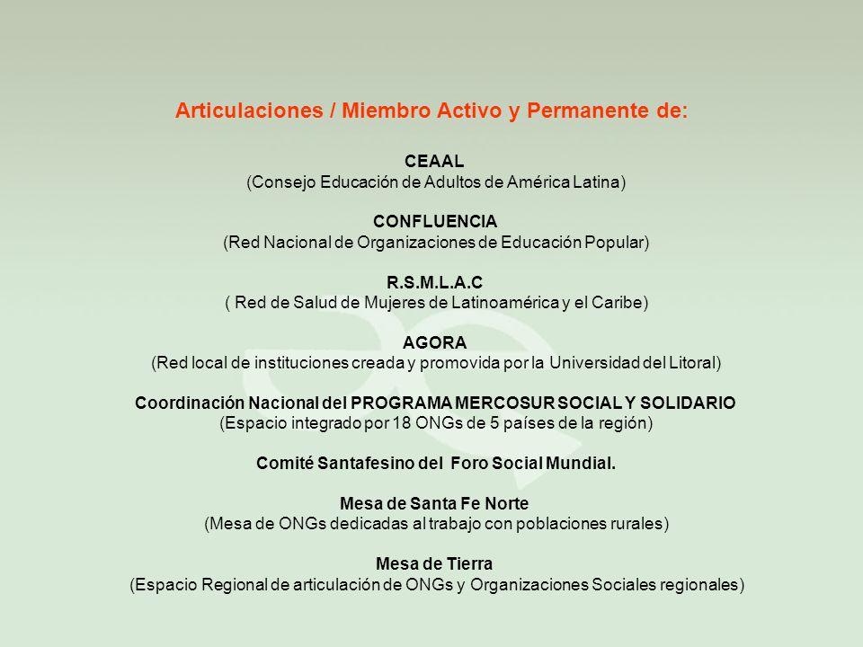 Comité Santafesino del Foro Social Mundial.