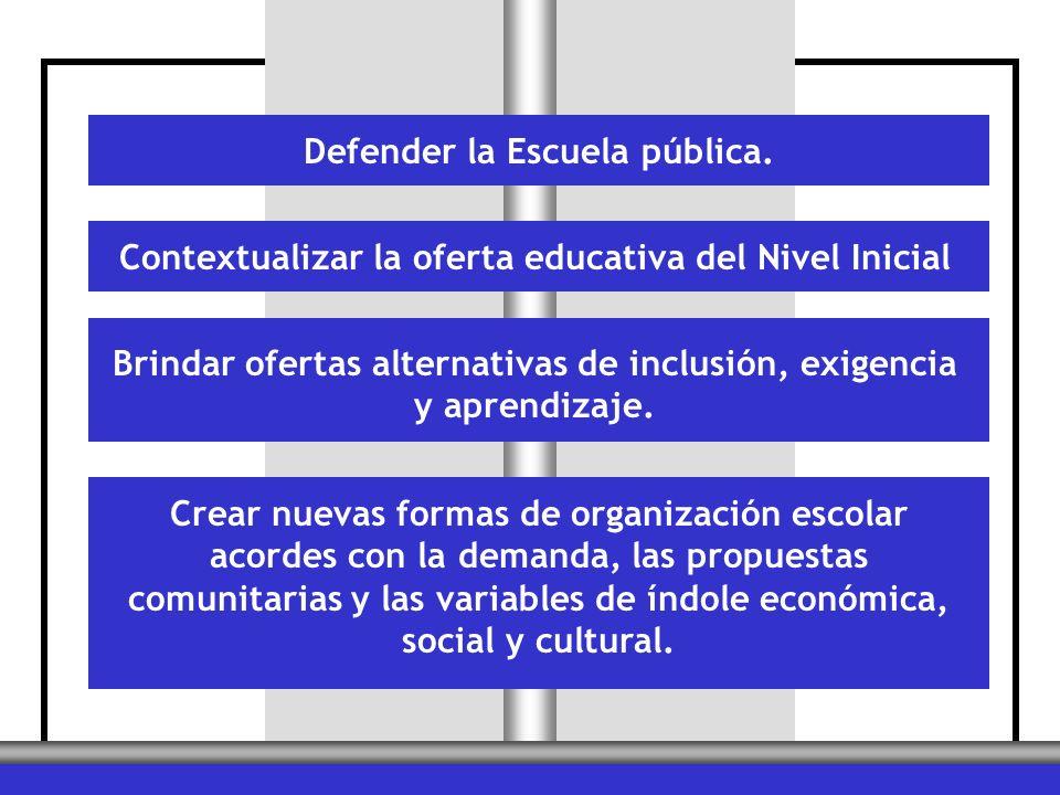 Defender la Escuela pública.