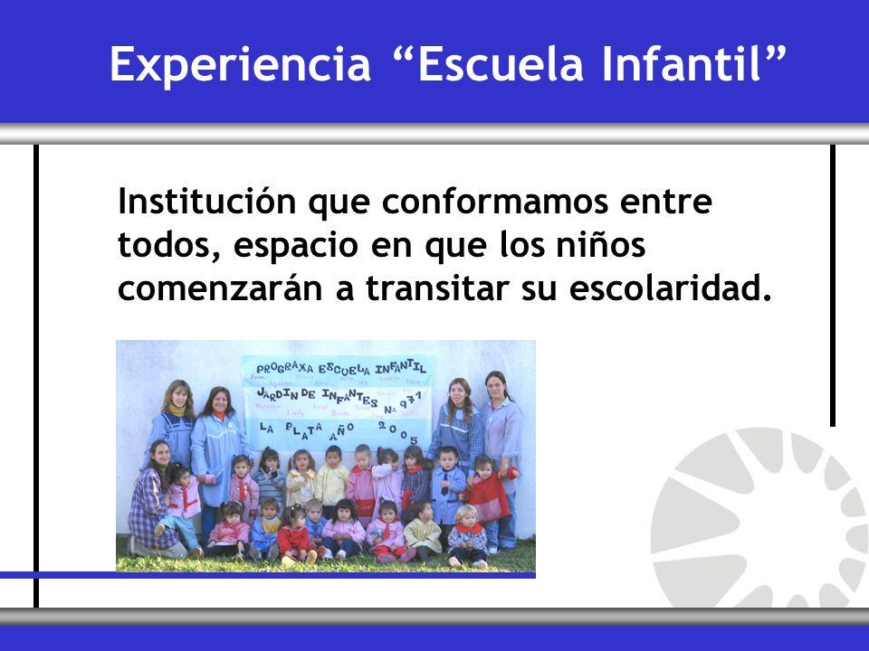 Experiencia Escuela Infantil