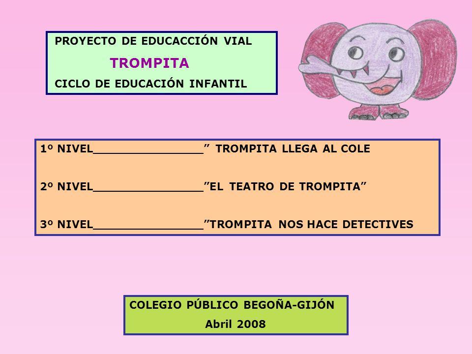TROMPITA PROYECTO DE EDUCACCIÓN VIAL CICLO DE EDUCACIÓN INFANTIL