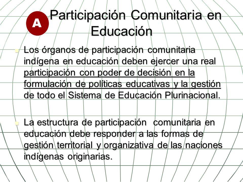 Participación Comunitaria en Educación