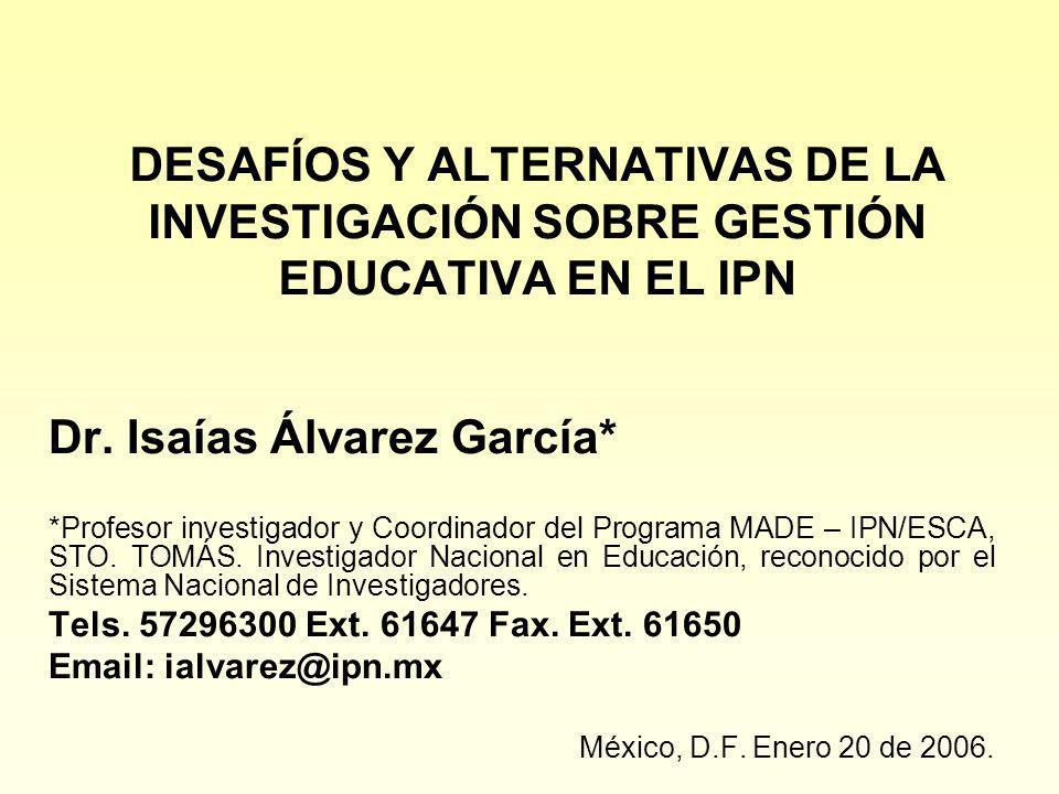 Dr. Isaías Álvarez García*