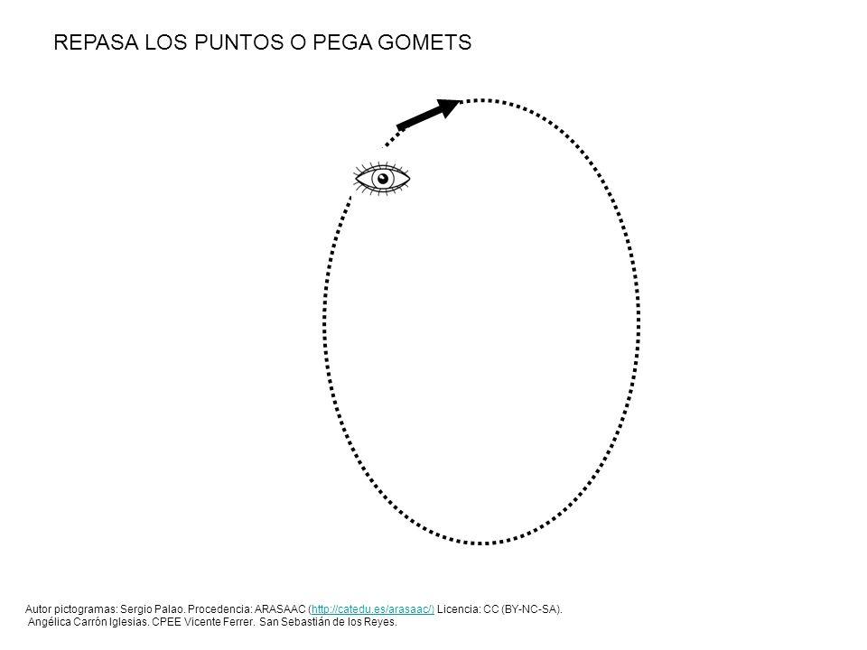 REPASA LOS PUNTOS O PEGA GOMETS