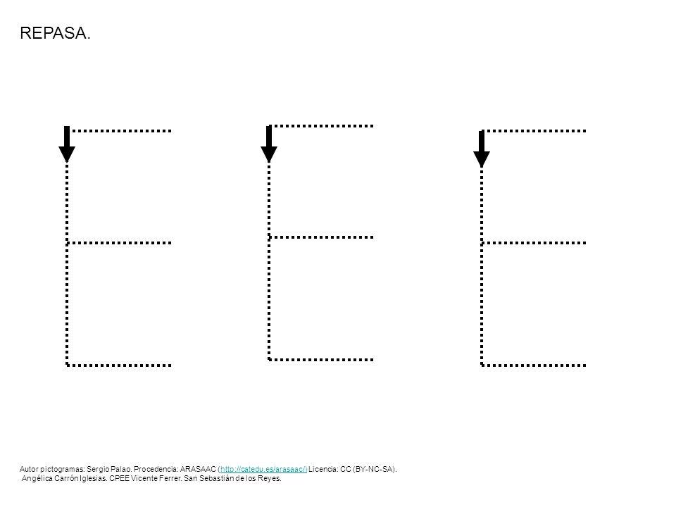 REPASA.Autor pictogramas: Sergio Palao. Procedencia: ARASAAC (http://catedu.es/arasaac/) Licencia: CC (BY-NC-SA).