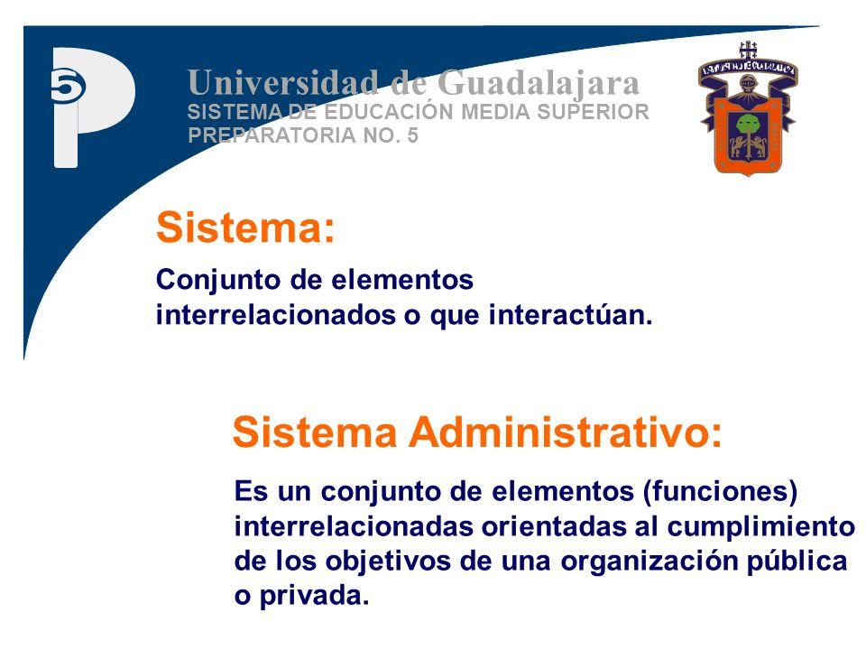 Sistema Administrativo: