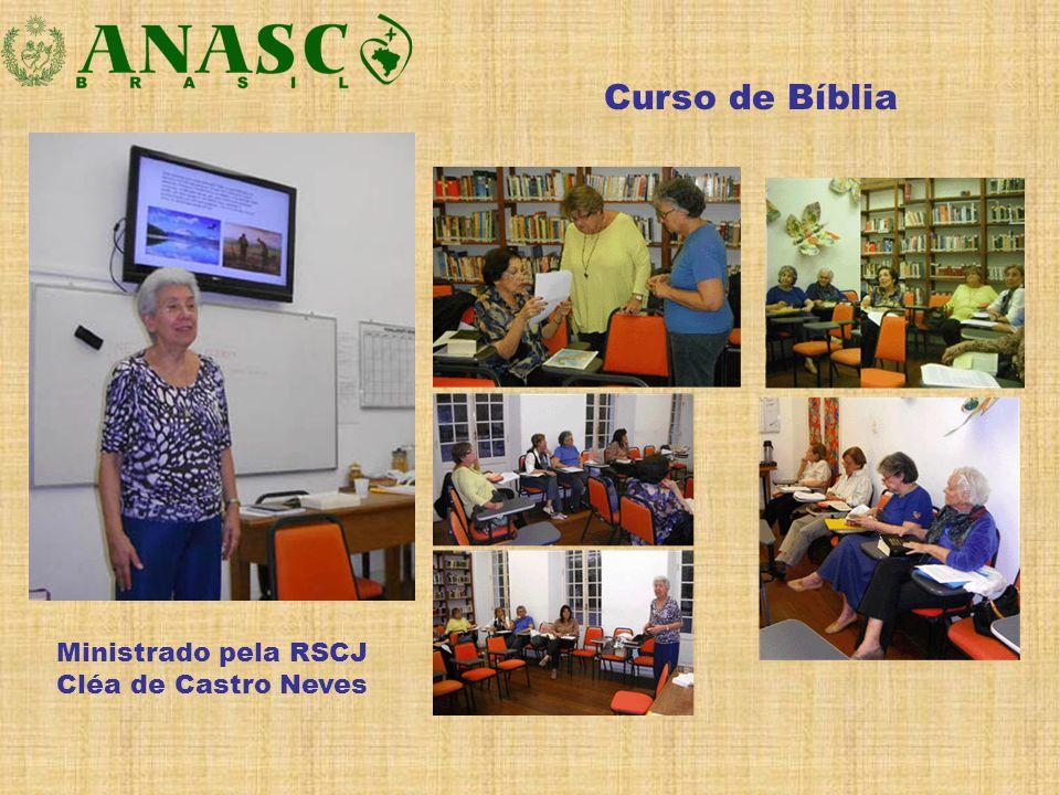 Ministrado pela RSCJ Cléa de Castro Neves