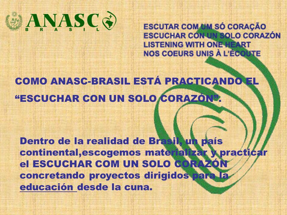 COMO ANASC-BRASIL ESTÁ PRACTICANDO EL