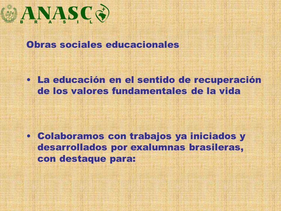 Obras sociales educacionales
