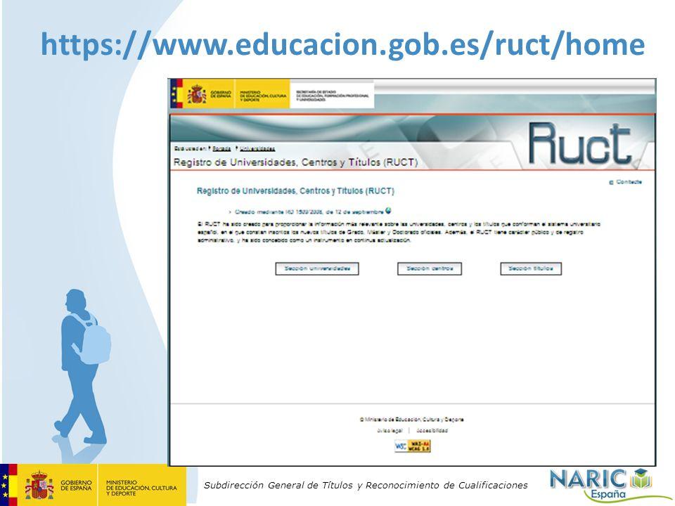 https://www.educacion.gob.es/ruct/home