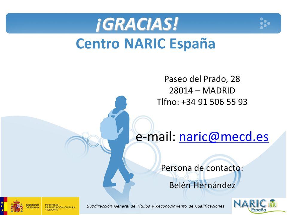 Paseo del Prado, 28 28014 – MADRID Tlfno: +34 91 506 55 93