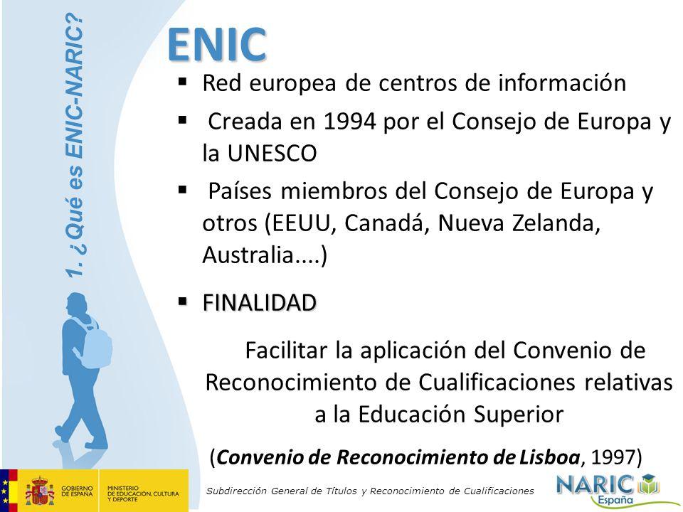 (Convenio de Reconocimiento de Lisboa, 1997)