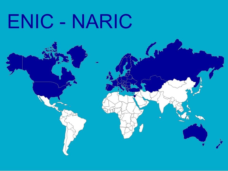 ENIC - NARIC 8