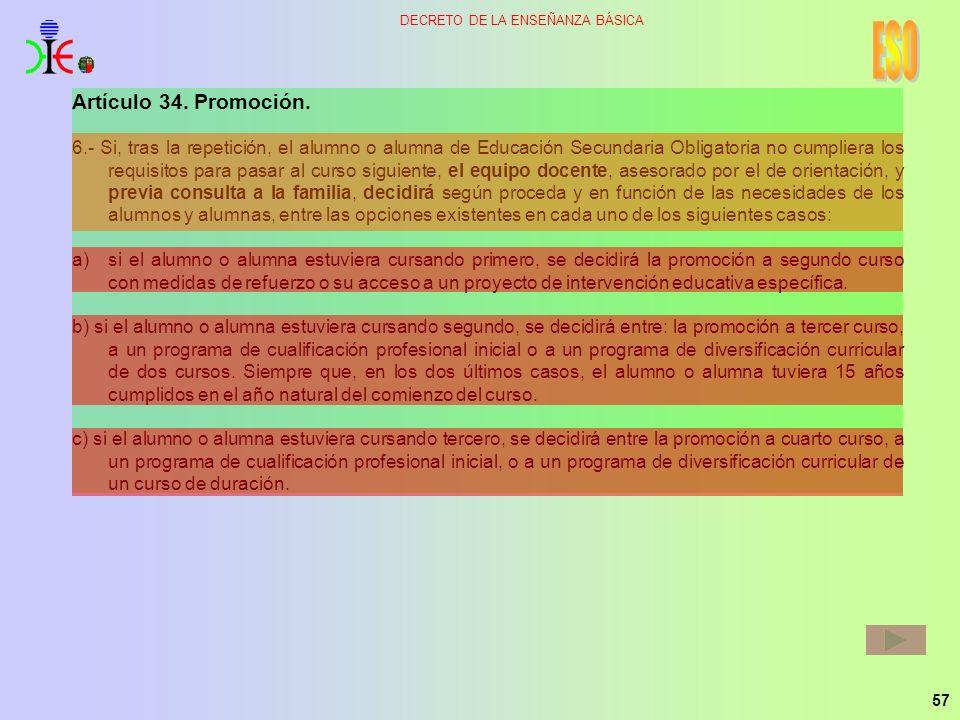 ESO Artículo 34. Promoción.