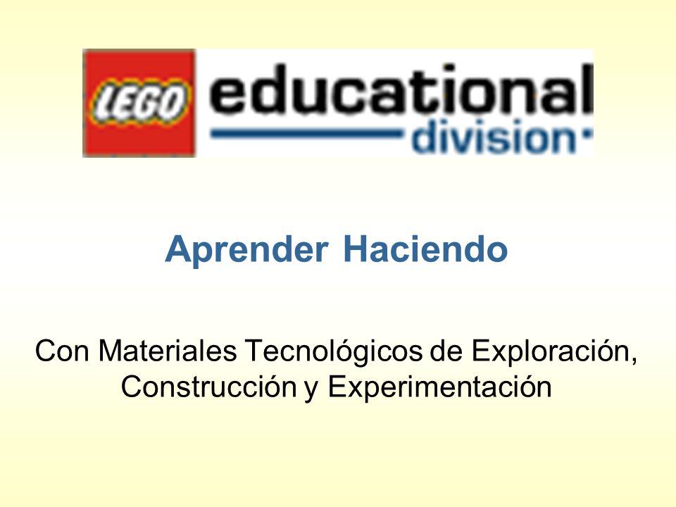 Aprender Haciendo Con Materiales Tecnológicos de Exploración, Construcción y Experimentación