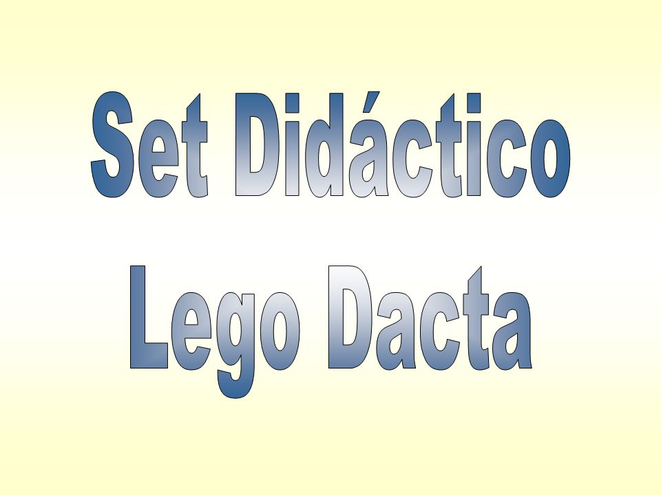 Set Didáctico Lego Dacta