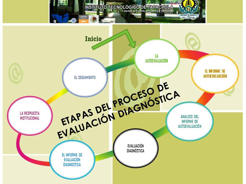 ETAPAS DEL PROCESO DE EVALUACIÓN DIAGNÓSTICA