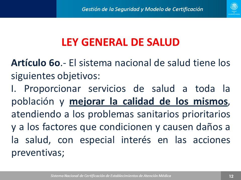 Gestión de la Seguridad y Modelo de Certificación