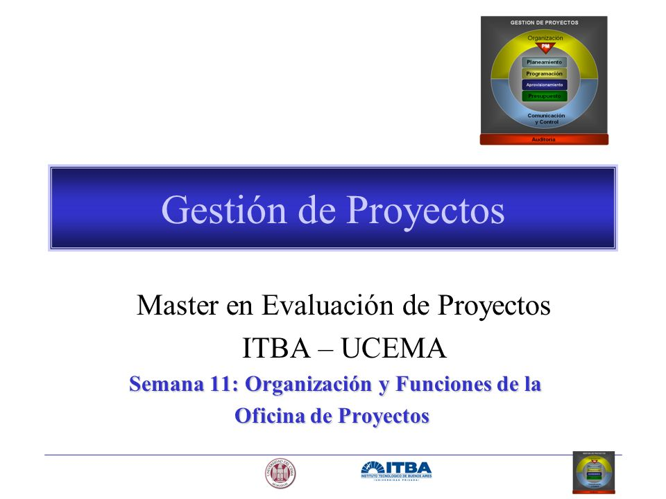 Master en Evaluación de Proyectos
