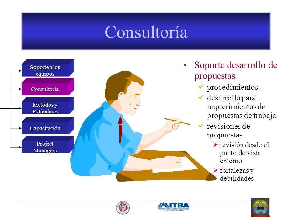 Consultoría Soporte desarrollo de propuestas procedimientos