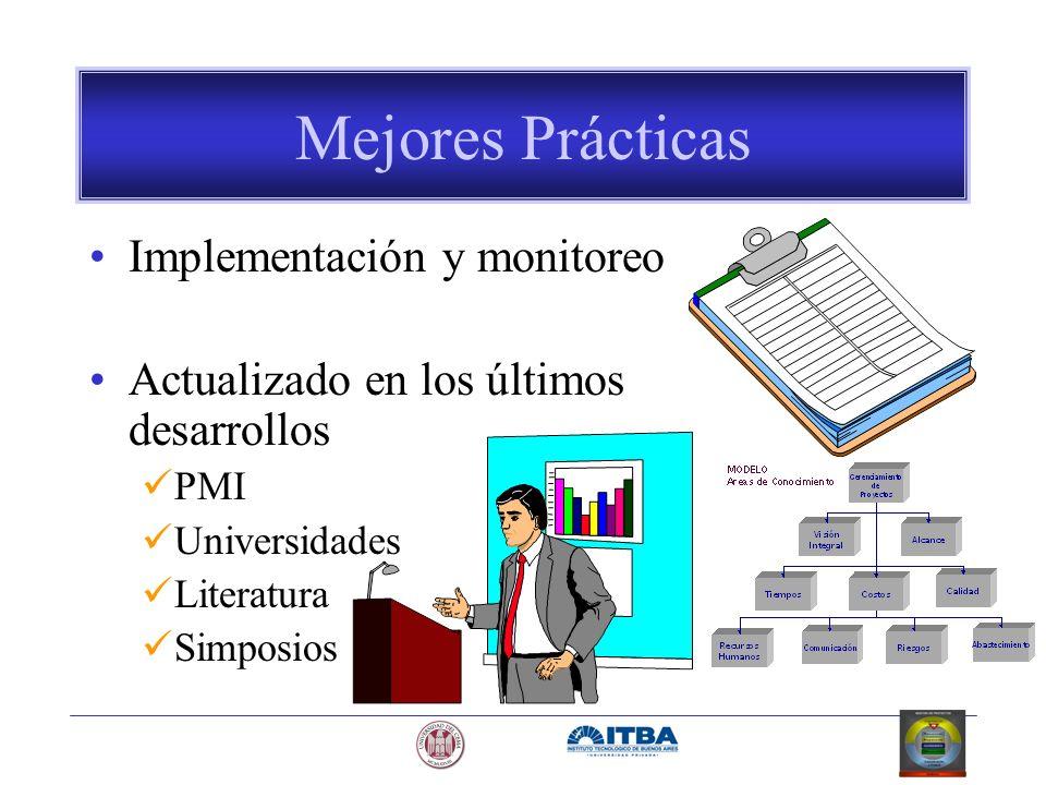 Mejores Prácticas Implementación y monitoreo