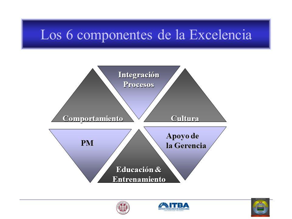 Los 6 componentes de la Excelencia