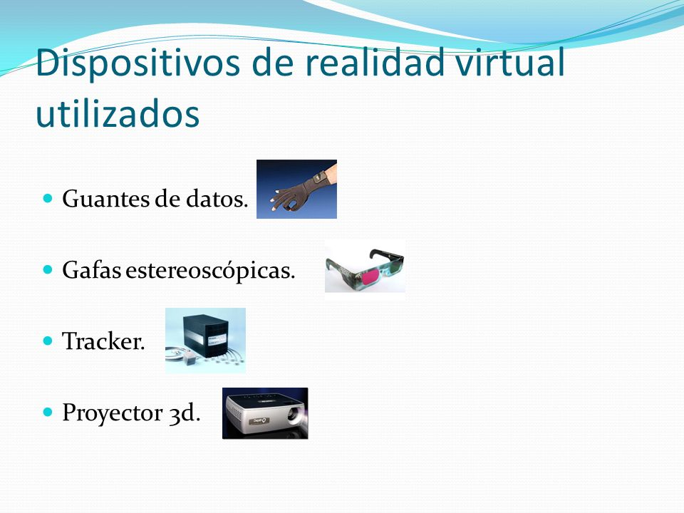 Dispositivos de realidad virtual utilizados