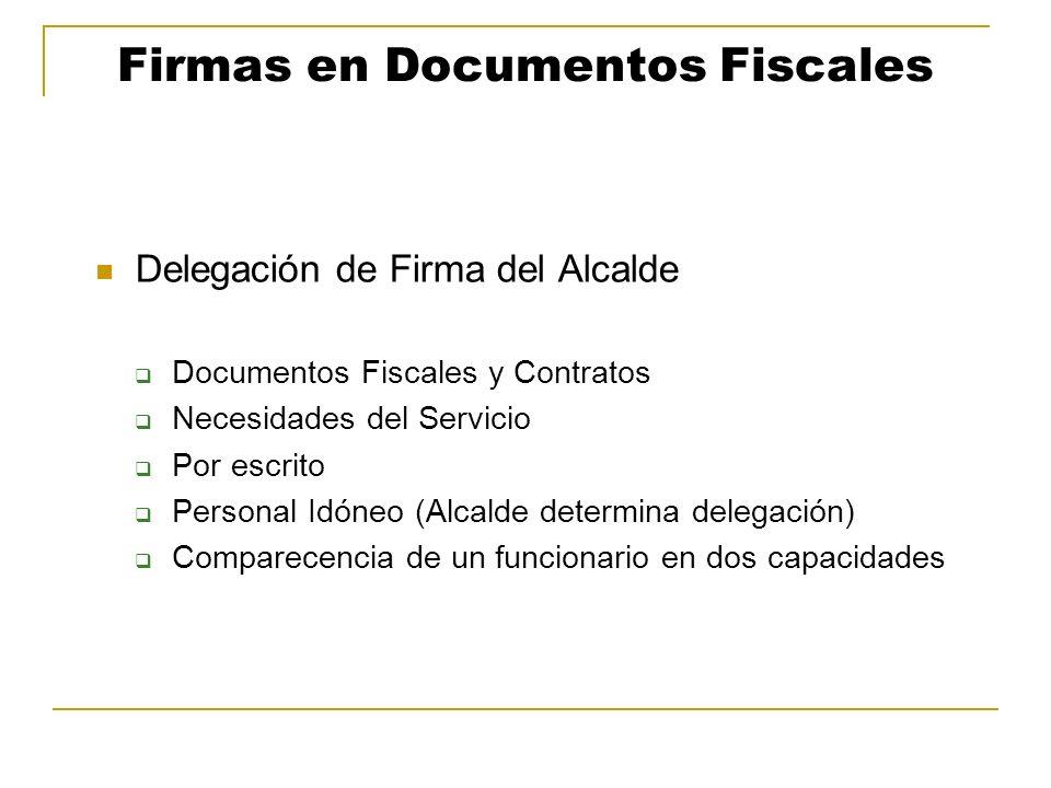 Firmas en Documentos Fiscales