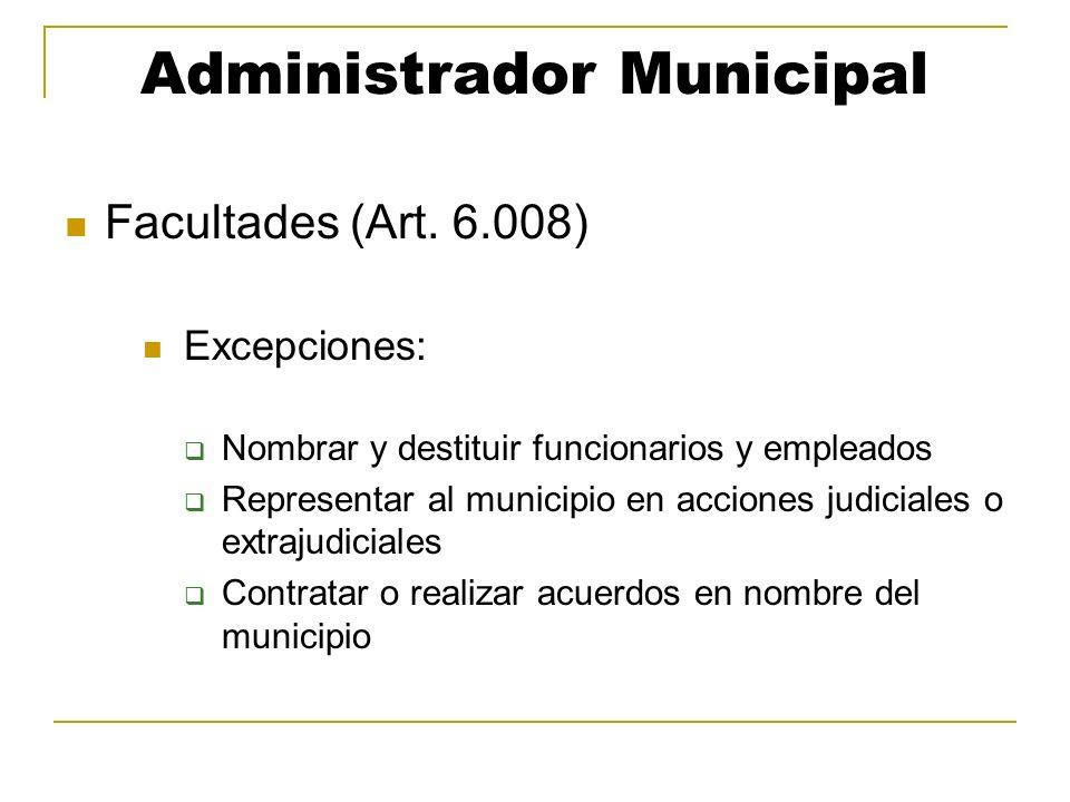 Administrador Municipal